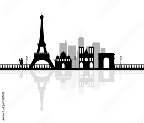 Paris Silhouette