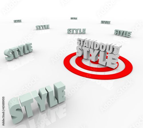 Standout Style Best Target Many Different Unique Trend Design Ch