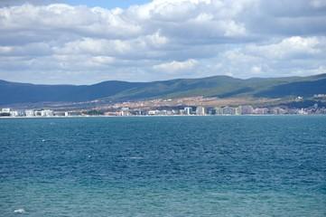 Bay of Sunny beach resort, Bulgaria