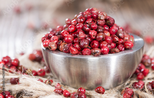 Bowl with Pink Peppercorns