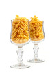 Macaroni in a glass