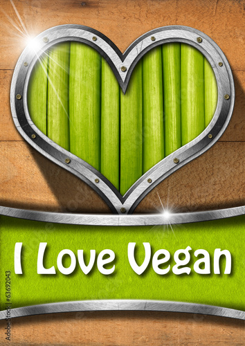 I Love Vegan
