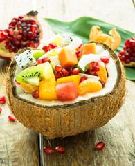 salade de fruit exotique