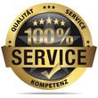 100 % Service - Qualität, Service, Kompetenz