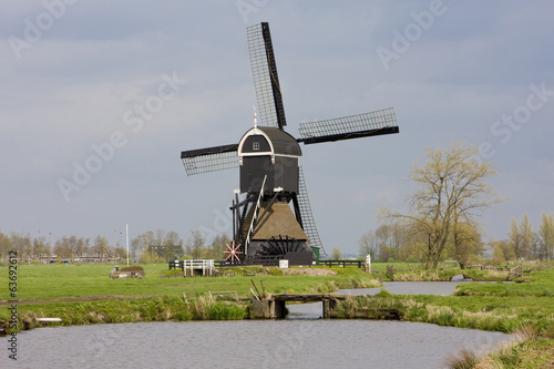 windmill near Steefkerk, Netherlands