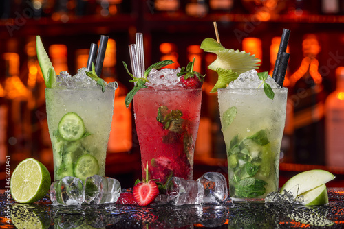 Cocktails Collection - Mojito Poster