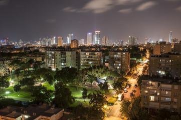 Grüne Stadt-Nightlife