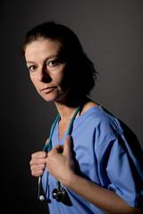 Stressed Nurse/Doctor