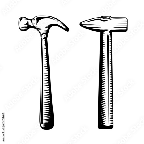 Two isolated hammers