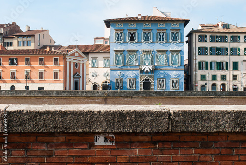 Aluminium Palazzo Blu, Lungarno Gambacorti di Pisa