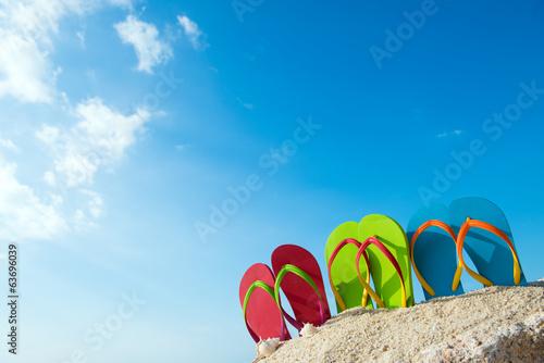 Leinwanddruck Bild Summertime
