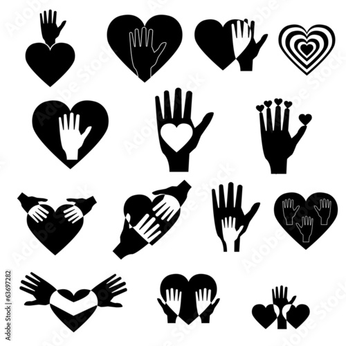 LOGO-HAND AND HEART