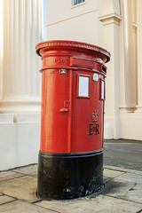 Traditional British Post Box
