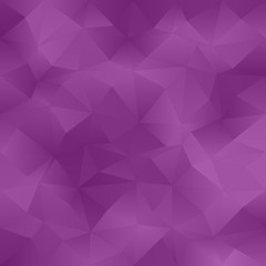 Purple abstract irregular triangle pattern background