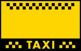 Fototapety advertise taxi background