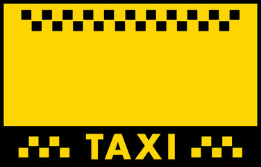 advertise taxi background