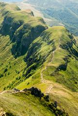 Landscape near Puy Mary, Auvergne, France