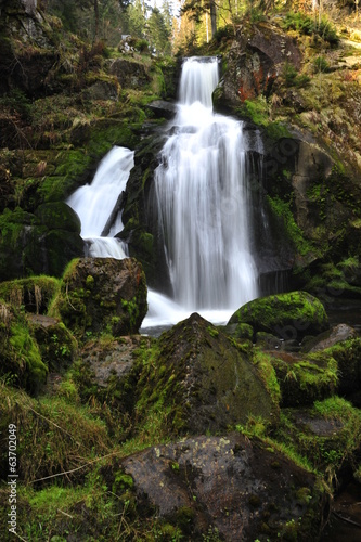 Triberg Waterfalls in Black Forest (Schwarzwald), Germany