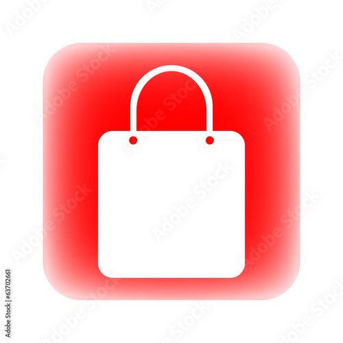 Shopping bag button
