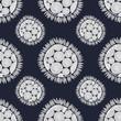 Materiał do szycia pattern with flowers