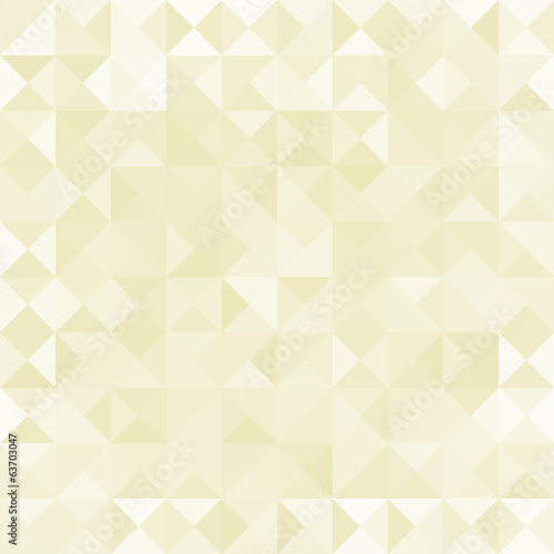 Abstract seamless vintage background from beige triangles