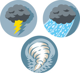 Storm icons