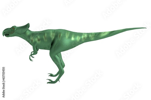 realistic 3d render of microceratops