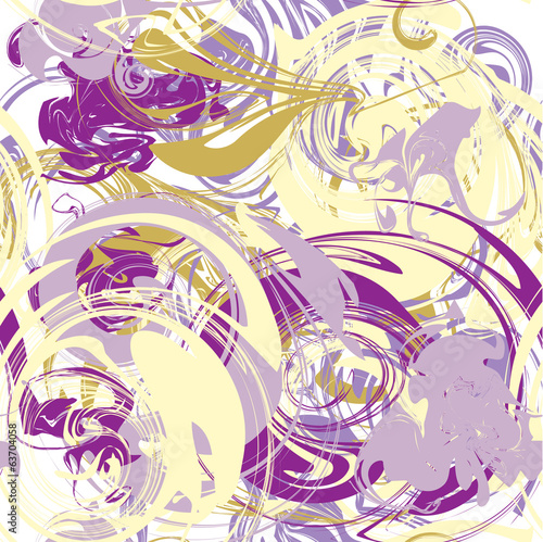 Abstract vector seamless pattern