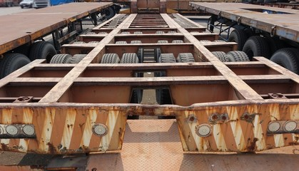 Massive Container Chassis Trailer