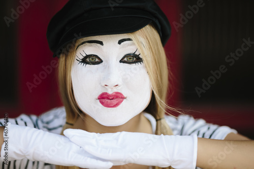 Female Mime