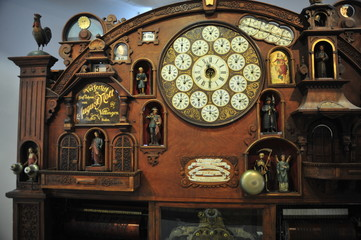 Old Germany hand-made cuckoo clock