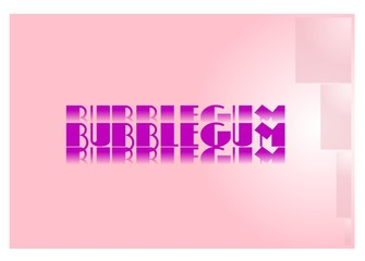 bubblegum background