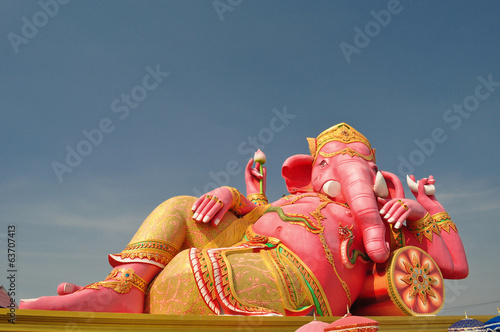 Ganesha the god of arts