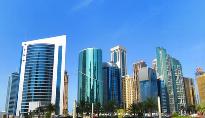 Qatar Reaching the Sky