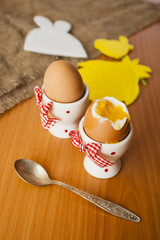 eggs in cocottes