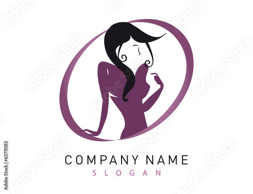 Woman logotype