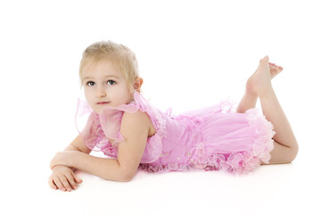 Relaxed Little Dancer