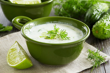 Yogurt sauce - tzatziki