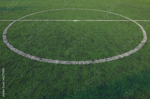 soccer field stadium on the green grass, sport game background