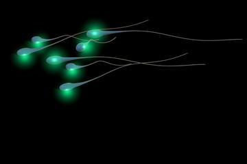 Spermium - 3d Render