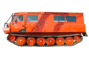 A powerful  truck all-terrain vehicle.