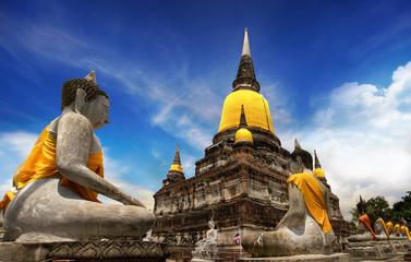 Temple of Ayutthaya, Thailand