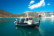 Traditional fishing boat on Lefkada  island  Greece - 63714685
