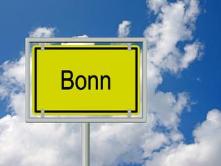 Bonn - Ortsschild