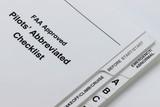 Checkliste eines Businessjets
