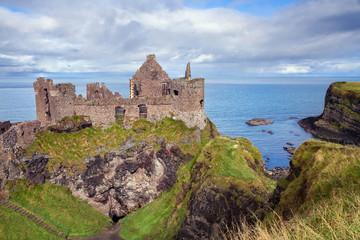 Dunluce castle ruins