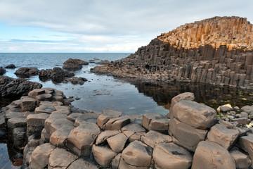 Basalt columns of Giant's causeway
