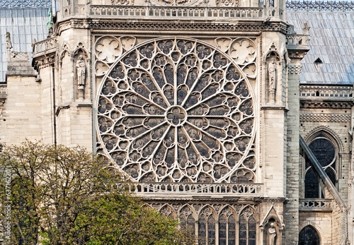 Rosette from Notre Dame Cathedrale