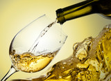 Fototapety White wine