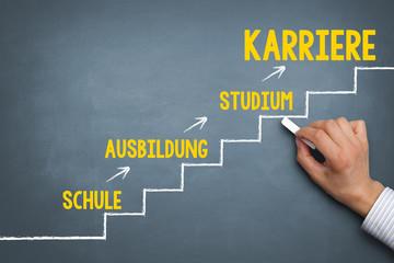 Bildungsweg - Karriere - Konzept